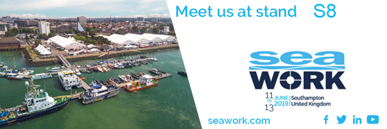 Meet E-LED Lighting at the Seawork 2019 in Southampton (UK) – Stand S8