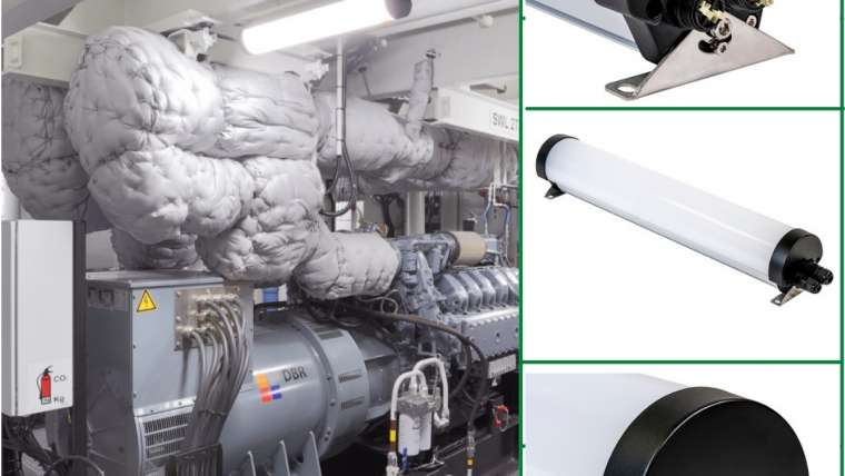 Our RTPL Series installed on a Neptune Marine Euro Special Purpose Pontoon in the Engine Room.